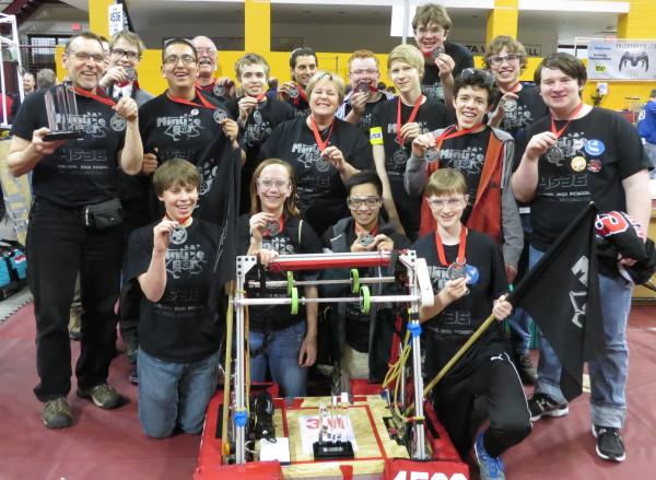 2014 MinuteBots at regionals